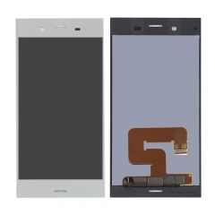 For Sony Xperia XZ1 LCD Display Touch Digitizer Screen Assembly Silver