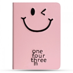 For iPad Mini Air Plastic Case Tablet Smile Case Cover