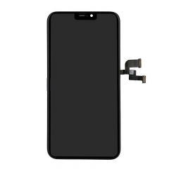 For iPhone X LCD Screen and Digitizer Assembly with Frame Black OLED Soft GX