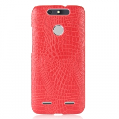 For ZTE Case Alligator Pattern Hard Plastic Mobile Phone Case