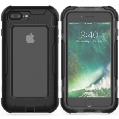 For iPhone Shockproof Heavy Duty Plastic Case Cover