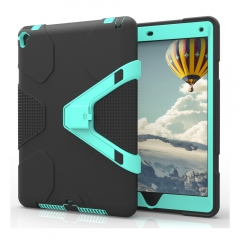 For iPad Shockproof Heavy Duty Plastic Case Cover