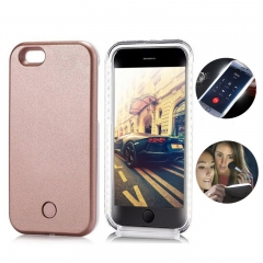 For iPhone Flash Selfie Light Up Glowing Case