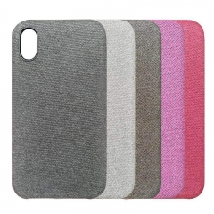 For iPhone Hiha Canvas Mobile Phone Case