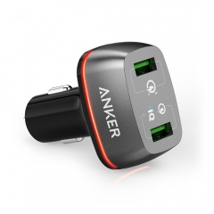 Anker Quick Charge 3.0 42W 2-Port USB Car Charger
