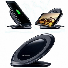 Fast Wireless Charger Quick Desktop Charger With Stand Holder