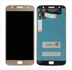 For Motorola G5S Plus XT1805 XT1806 LCD Display Touch Digitizer Assembly Gold
