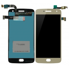 For Motorola Moto G5 Plus XT1687 XT1686 XT1685 LCD Display Touch Screen Assembly Gold
