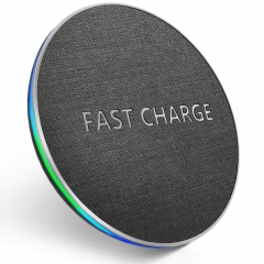 10W Qi Fast Wireless Charger Pad