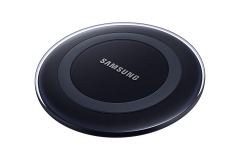 For Samsung S6 Qi Wireless Charger Pad Black