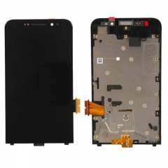 For Blackberry Z30 LCD Touch Screen Digitizer Assembly With Frame 4G Black