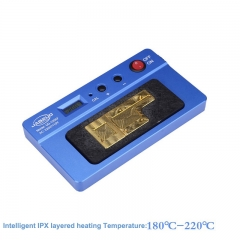 UD-120XF Intelligent Layered Heating Table Soldering Rework Platform For iPhoneX NAND CPU A8 A9 CPU IC Removal Disassemble Tools