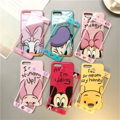 360 Full Cover Phone Case + Screen Protector Coque Cartoon Cover