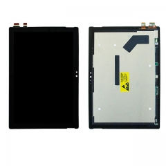 For Microsoft Surface Pro 4 1724 LCD Display Touch Screen Digitizer Assembly Black