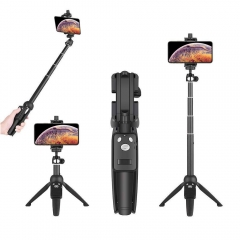 Extendable Selfie Stick Tripod 40 inch with Wireless Remote Shutter