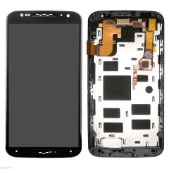 For Motorola Moto X 2nd Gen XT1093 XT1094 LCD Touch Screen Digitizer With Frame Assembly Black