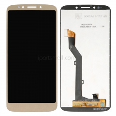 For Motorola Moto G6 Play XT1922 LCD Screen Display Touch Digitizer Assembly Gold