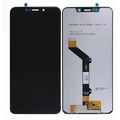 For Motorola Moto One / P30 Play LCD Display Touch Screen Digitizer Assembly Black