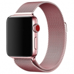 For Apple Watch 38mm 42mm Premium Stailess Band Milanese Loop Band