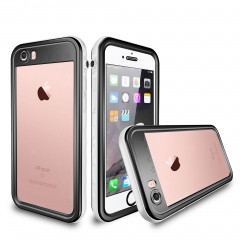 For iPhone 6 6Plus Waterproof Case Cover TPU Full Case Cover 2 meter Dropproof Clear Back Side