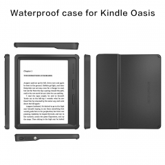 For Kindle Oasis Waterproof Case Cover TPU Full Case Cover 2 meter Dropproof Case