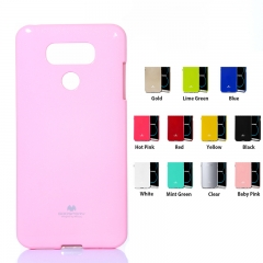 For LG Pearl Jelly Slim TPU Soft Bumper Case Cover