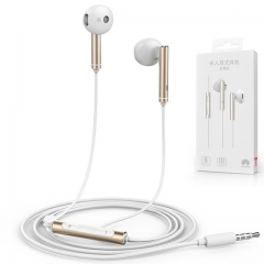 For Huawei Original Earphone Metal AM116 3.5mm In Ear Hearphone Headset With Mic Volume Control