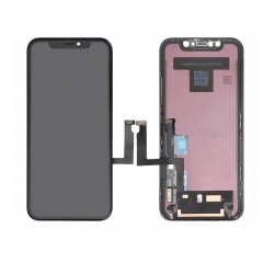 For iPhone XR LCD Screen and Digitizer Assembly with Frame Replacement - Black - Original New