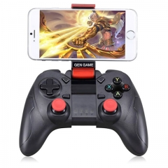 S6 Gamepad Wireless Bluetooth 3.0 Game Controller Joystick Para iPhone iPad Samsung Huawei TV Box