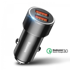 36 w Dual USB Quick Charge QC 3.0 Car Charger for iPhone USB Type-C