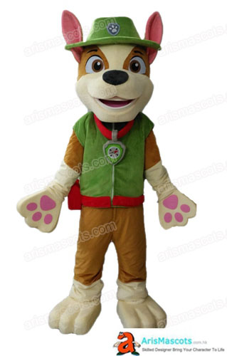 Adult Fancy Paw Patrol Tracker Mascot Costume For Party Cartoon Character Mascot Outfits for Sale Cartoon Mascot Costumes for Kids Birthday Party