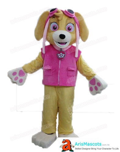 Paw Patrol Family Halloween Costume  Paw Patrol Dress up Clothes Full Body Plush Girl Skye Costume