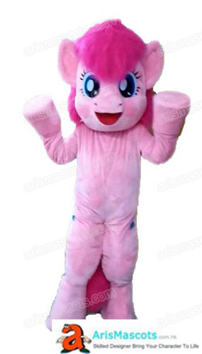 Adult Fancy Pink My Little Mascot Costume Pony Pinkie Pie For Party Buy Mascots Online Custom Mascot Costumes Arismascots Cheap Mascot Costume Deguise