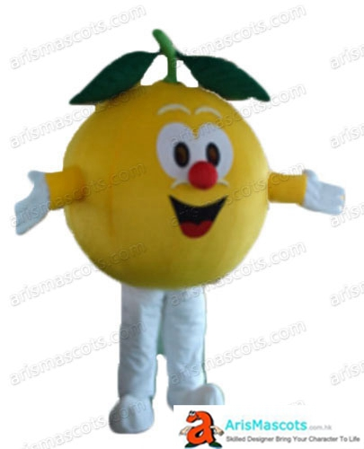 Deguisement Mascotte Fancy Orange Mascot Costume Fruit Mascots Cosplay Costume Advertising Mascots Custom Funny Mascot Costumes for Sale