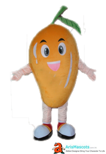 Fancy Mascot Fruit Mango Cosplay Costume Advertising Mascots Custom Funny Mascot Costumes for Sale