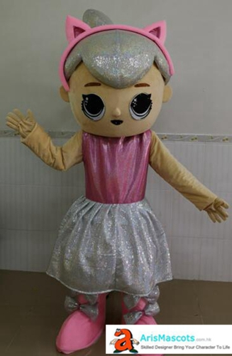Adult LOL Surprise Doll Mascot Costume Cartoon Mascot costumes for Birthday Party Professional Mascot Design Company