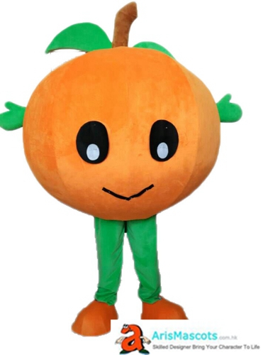 Deguisement Mascotte Adult Orange Mascot Costume Fruit Mascots Cosplay Costume Advertising Mascots Custom Funny Mascot Costumes for Sale