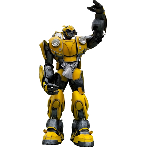 Beetle Transformer Life Size Bumblebee Beetle Transformer Costume Real Transformer Fancy Dress for Sale Cosplay Bumblebee