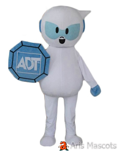 White Astronaunt Costume , Mascotte Boy for Marketing