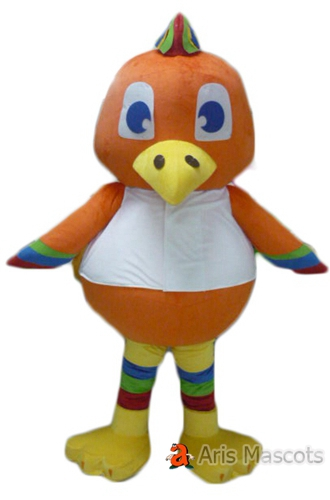 Giant Mascot Hen Costume for Sale, Big Head and Body Chicken Mascot Full Suit