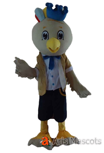 Lovely Chicken Mascot Costume for Event, Cosplay White Chicken Fancy Dress for Adults