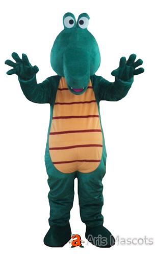 Crocodile Costume Full Size Foam Mascot For Stage and Theater Adult Animal Mascots for Marketing