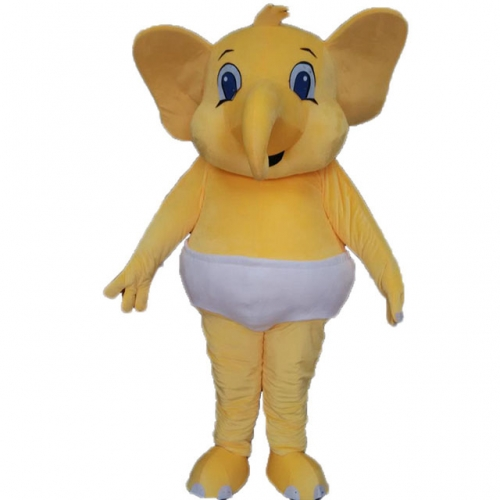 Big  Elephant Outfit Full Body Mascot Costume Elephant Fancy Dress Custom Animal Mascots