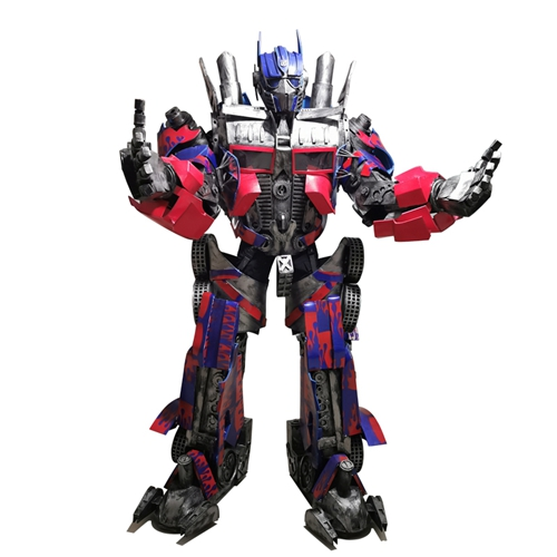 Full Body Adult Size Giant Optimus Prime Deluxe Costume Transformers Fancy Dress Carnival Costumes Halloween Outfit for Events