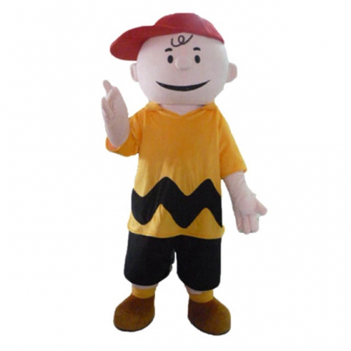 Peanuts Characters Charlie Costume Peanuts Charlie Brown Fancy Dress Cartoon Mascots for Entertainment Event