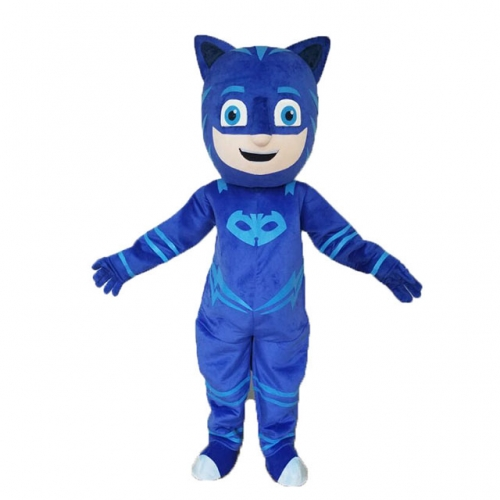 Catboy Costume Adult CatboyFancy Dress Full Body Mascot Suit