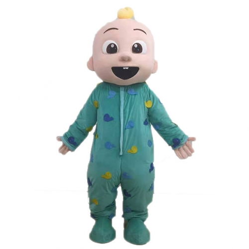 Lovely Cocomelon Baby Costume Adult Size Full Body Mascot Suit Plush Fancy Dress for Events and Festivals Carnival Costumes