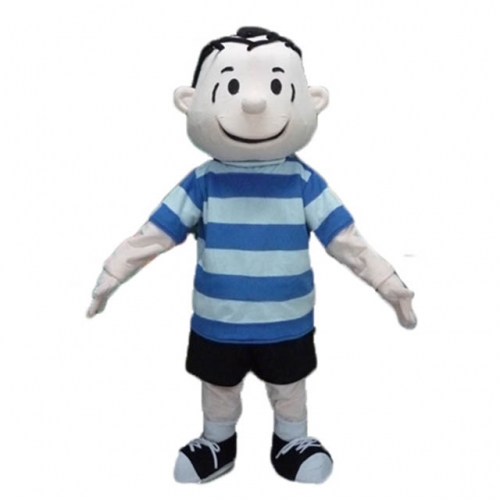 Linus Peanuts Costume Linus Halloween Costume Peanuts Linus and Lucy Costume for Event Party