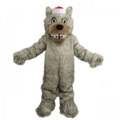 North Carolina Wolf Mascot Costume Custom Sport Mascots for Advertising Team Mascot for Sale Deguisement Mascotte Quality Mascot Maker Arismascots