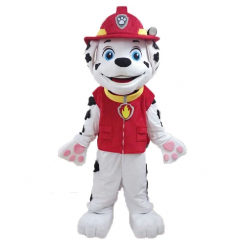 Adult Marshall Costume Marshall Paw Patrol Costume for Entertainment Marshall Costume for Adults Marshall Dress Up